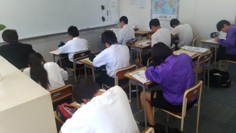 テスト前の教室開放!