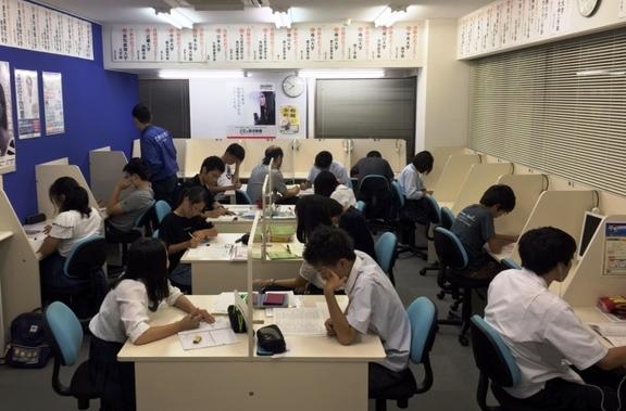 夏期講習 in 四日市駅前校