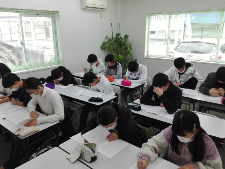 スタディー菰野校 後期試験に向けて全力疾走!!