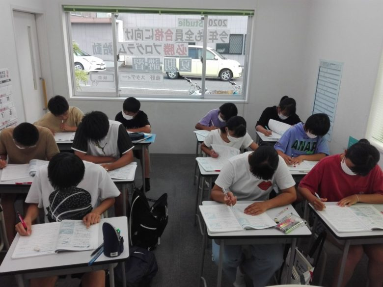 スタディー菰野校 夏期講習中!!9月入塾生募集開始。
