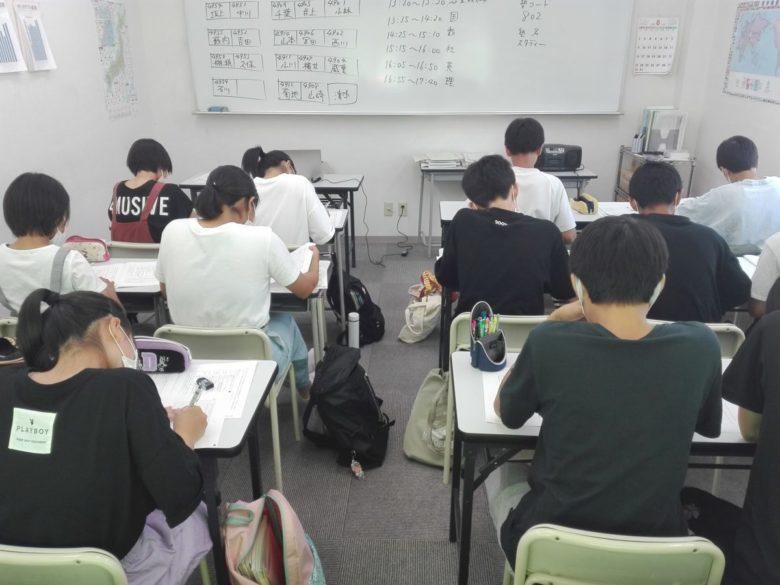 スタディー菰野校 2学期の授業も本格的に始まりました。