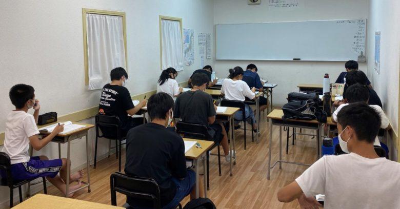 入試対策授業、始まりました!